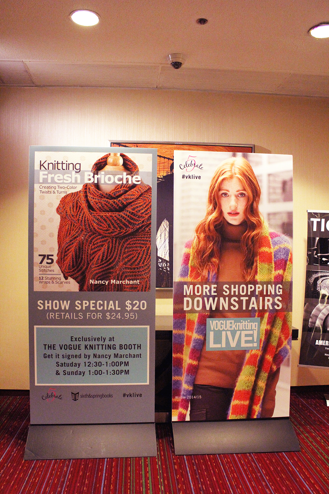 Vogue Knitting Live-New York City 2015, Fun, Fiber, & Fashion in the ...