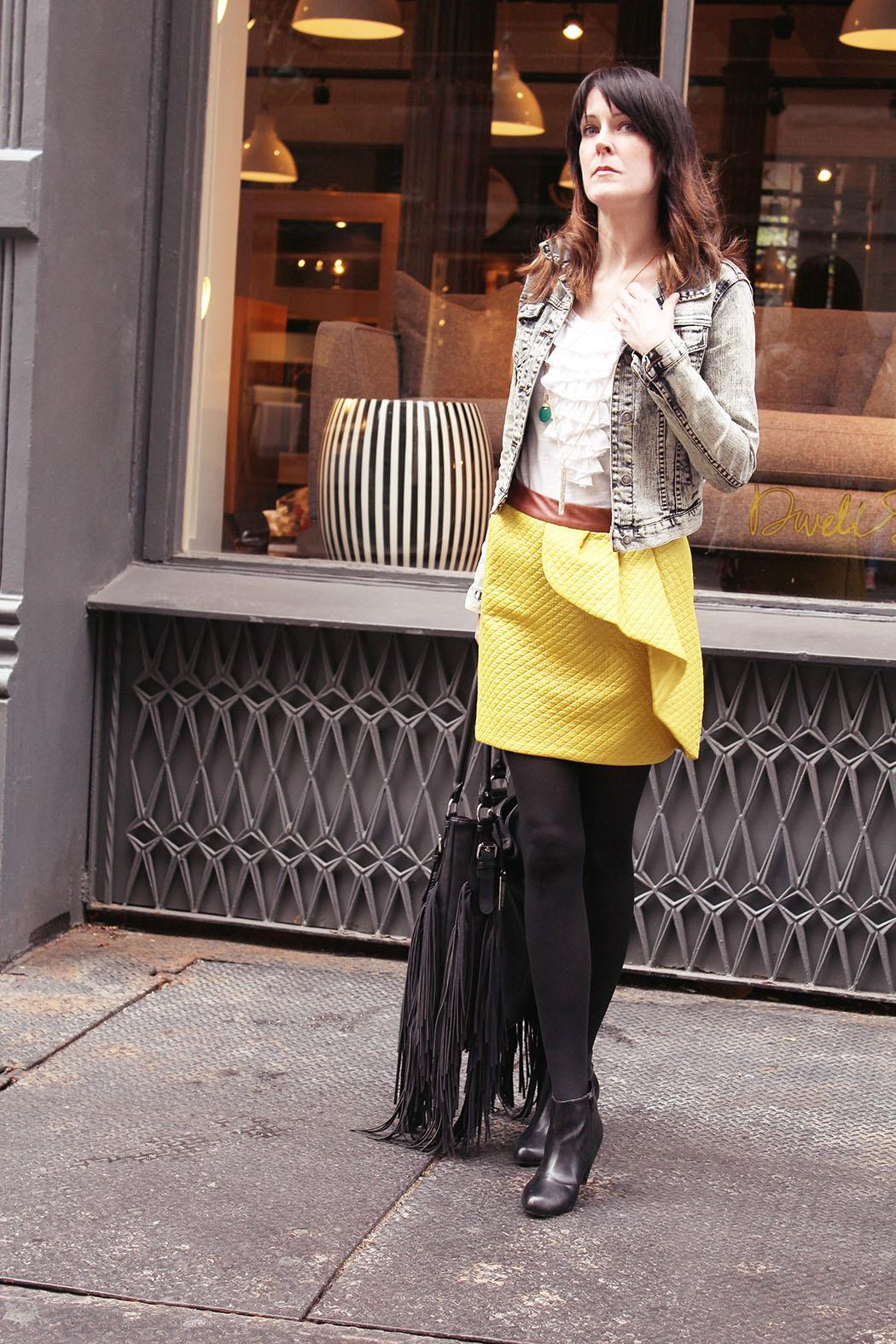 anthropolgie-yellow-skirt