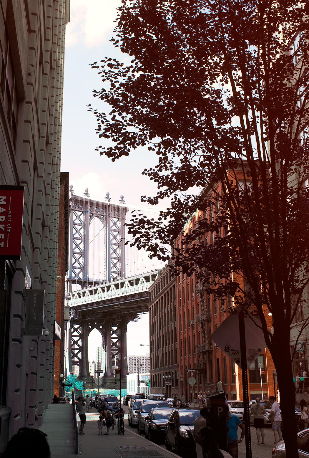 DUMBO-Manhattan-Bridge