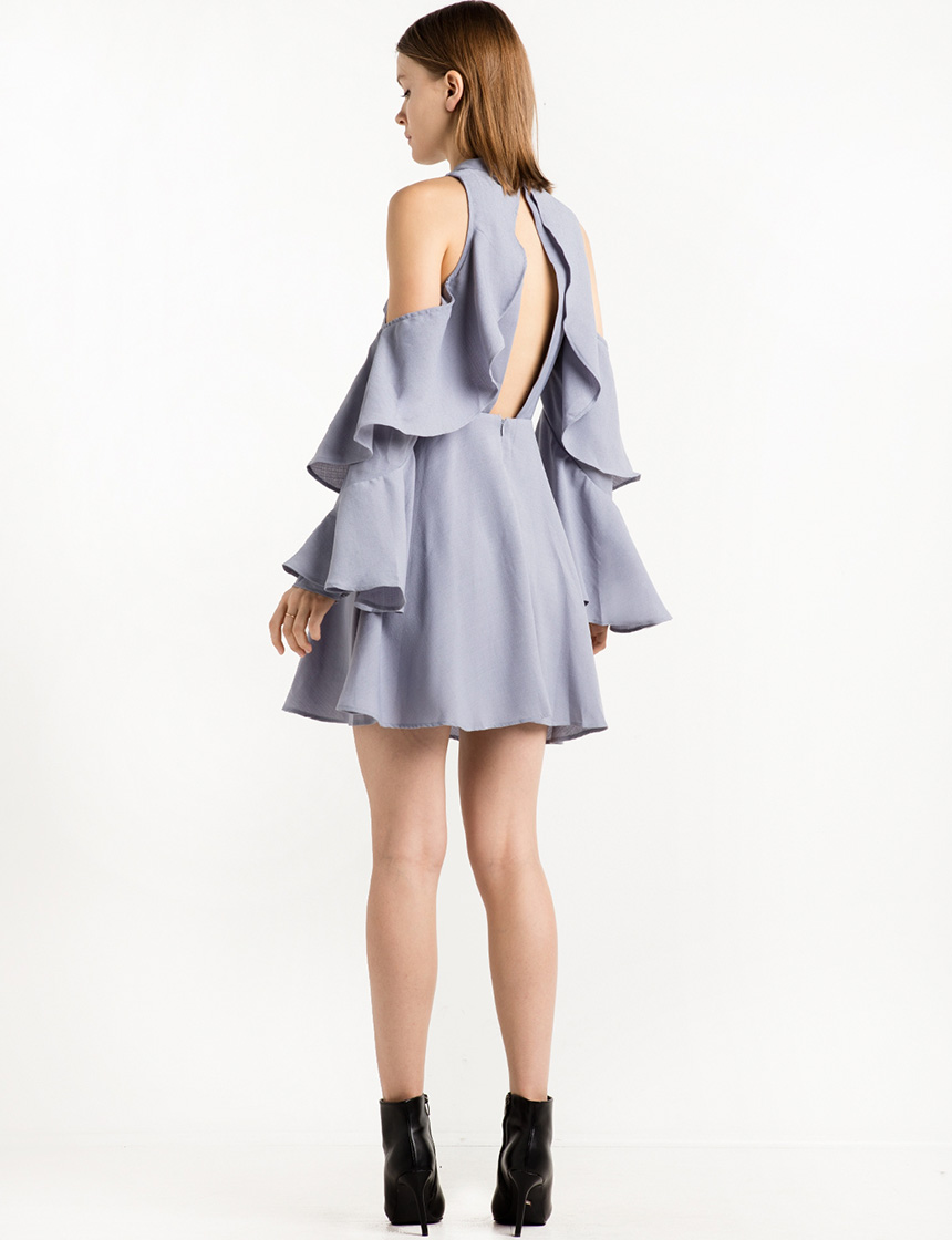 blue-ruffled-cold-shoulder-dress-27189