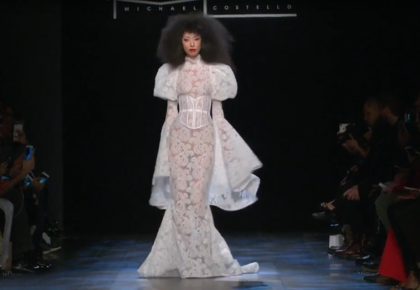 Michael Costello Fall 2017 @ NYFW - ALLIE NYC