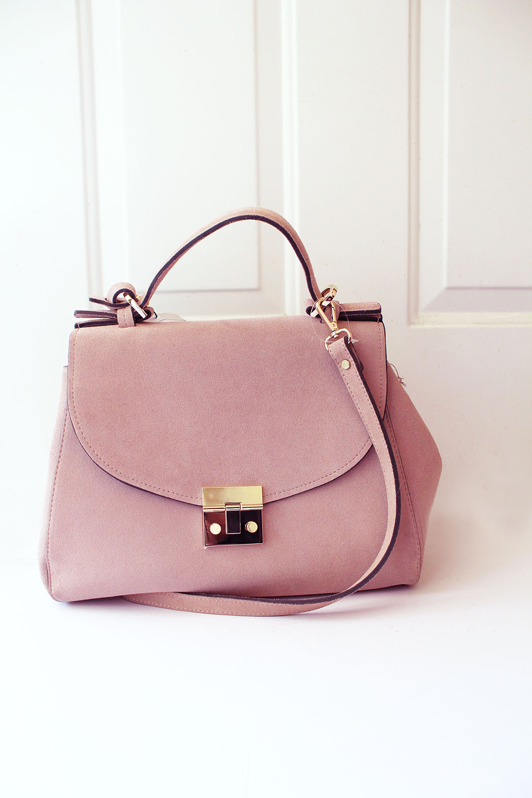 Top A Dusty Pink Satchel From Zara and a Lovely Way to Say Hello to  JJ98